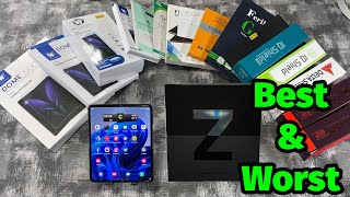 Best And Worst Screen Protectors For Samsung Galaxy Z Fold 3