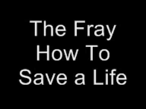The fray how to save a life lyrics youtube the fray how to save a life lyrics ccuart Images
