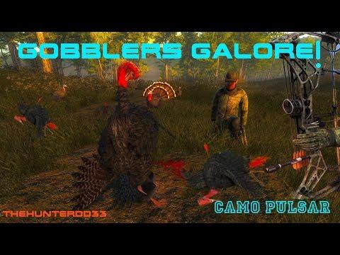 GOBBLERS GALORE!!  *Turkey Hunting*  THEHUNTER 2017