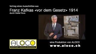 Einmalig vorgetragen: «vor dem Gesetz» von Franz Kafka: überraschend!