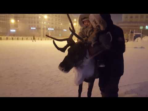 Christmas holiday fun, Yakutsk (Siberia)