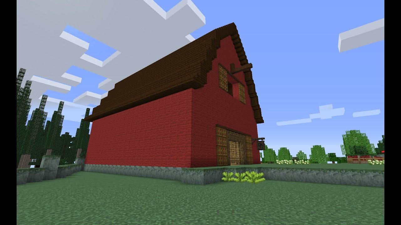 Building A Barn Minecraft