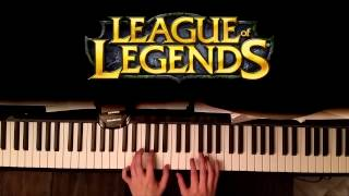 League of Legends - Silver Scrapes [Easy Piano Tutorial] + SHEET MUSIC