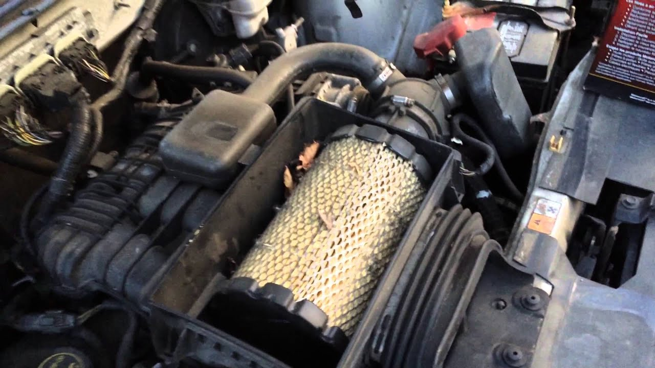 how to change fule filter 2011 mazda tribute
