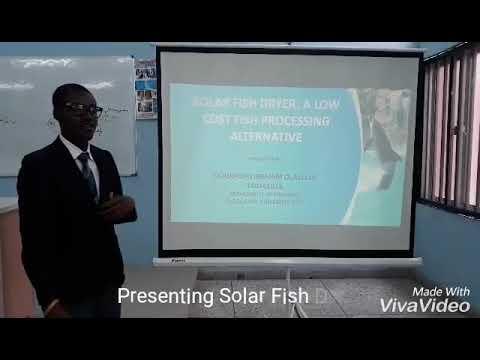 Solar Fish Dryer: A Low Cost Fish Processing Alternative