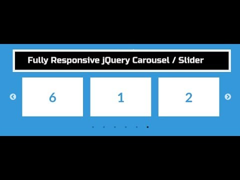 Integrate Fully Responsive jQuery Carousel Slider On Website Using Slick  Jquery Plugin