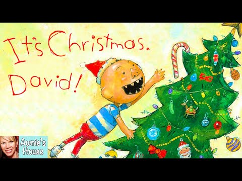 🎄 Kids Book Read Aloud: IT'S CHRISTMAS, DAVID! by David Shan