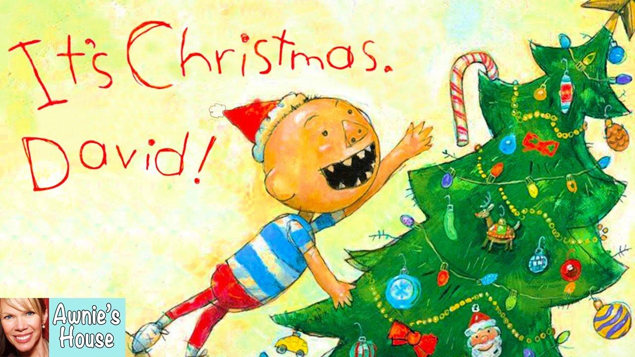 Kids Book Read Aloud It S Christmas David By David Shannon Youtube
