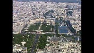 Paris vu du ciel filmée par Sylvain Augier