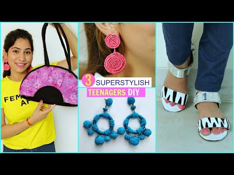 3 SUPER STYLISH DIY For TEENAGERS    #Fashion #Styling #DIYQueen