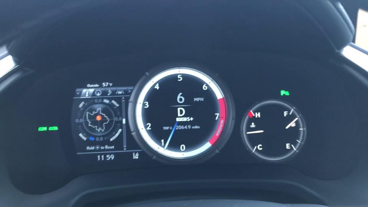 0 60 Mph 2017 Lexus Rx 350 F Sport