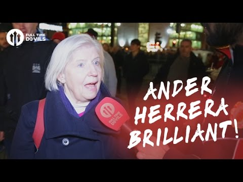 Ander Herrera Brilliant! | Manchester United 1-0 Manchester City | FANCAM