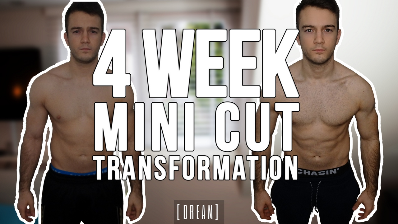 4 week fat loss transformation mini cut results youtube 4 week fat loss transformation mini cut results malvernweather Choice Image