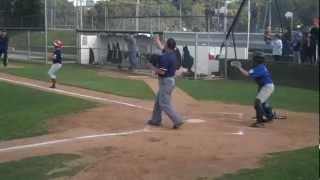 Intermediate PVLL Red Sox 2010 -vs SS dodgers - with Maury Wills