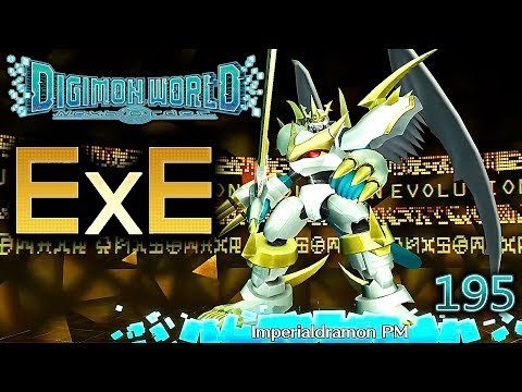 Digimon World Next Order [195] EXE Digitation Imperialdramon