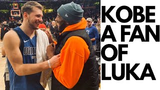 Kobe Bryant a fan of Luka Doncic | Greatness recognizes greatness | Lakers vs Mavs