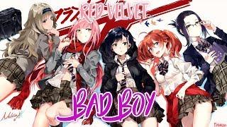 Nightcore ・ Bad Boy - Red Velvet /Switching Vocals/