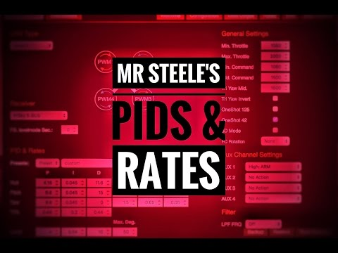 Mr Steele's PIDs and Rates Explained