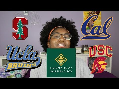 College Tours: USC, UCLA, USF, Stanford and UC Berkeley
