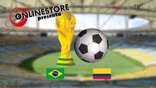 Brasile - Colombia Mondiali 2014