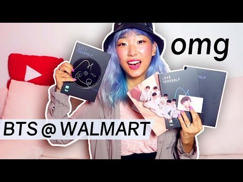 I Bought BTS Love Yourself Tear From Walmart!!! - Album Unboxing