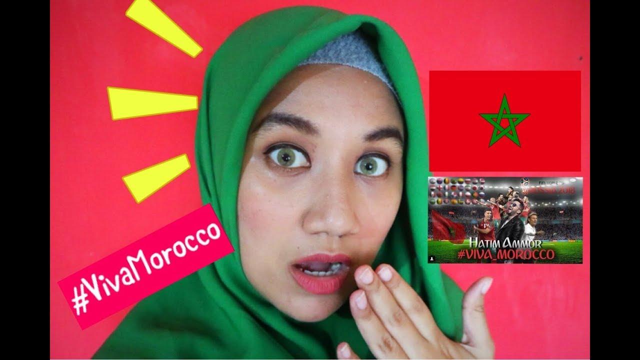Hatim Ammor Viva Morocco Exclusive Music Video 2018 Indonesia Reaction Youtube