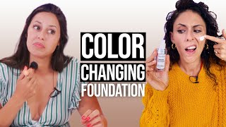 Color Changing Foundation - Does It Work?! (Beauty Break)