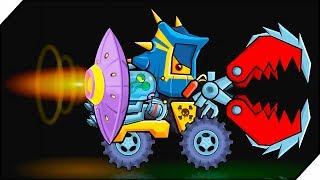 КОМБАЙН ПРОТИВ ВСЕХ - Игра Car Eats Car 3 Хищные машинки # 7 Игра для мальчиков