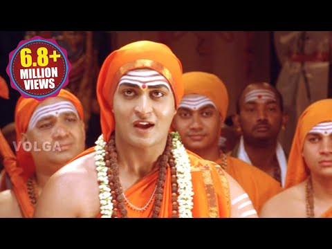 Jagadguru Adi Shankara Scenes - Argument Between Shankara And Maana Mira - Kaushik Babu