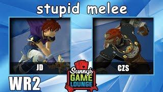 jd vs czs wr2 stupid melee arlo 2 charity stream