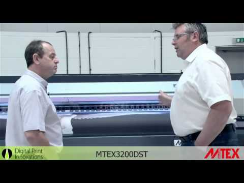 MTEX 3200 DST Aqueous textile printer.  An Introduction by D