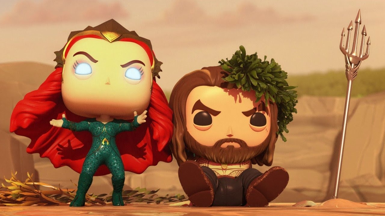 Aquaman Funko Pop Vinyl Animated Short Quot Lost Relic