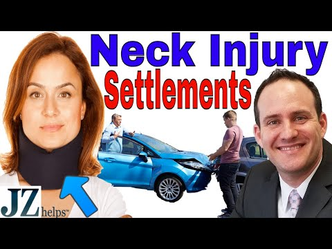 Neck Injury Settlements: Car Accidents and More (The Inside Scoop)