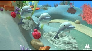 DOLPHIN - exploring sea animals with kids, Alex cartoon videos