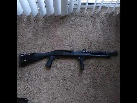 Savage Stevens 320 Pump Action Shotgun W/ Mods (Update)