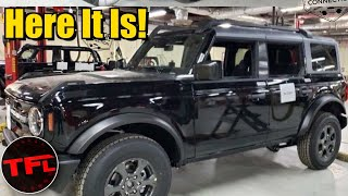 New 2021 Ford Bronco is Here in LEAKED Images! See it Topless For the First Time