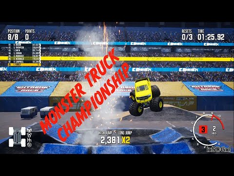 monster truck champ ep1, FIRST LOOK & going for the win! #monstertruckchampionship #monstertrucks |
