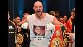Fury sets up Wilder fight after winning 2nd comeback bout