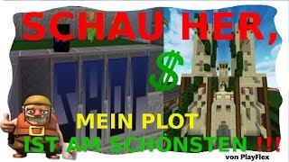 TEMPELPLOT ist FLOTT!!! Mein Grundstück (1.) | Minecraft Griefergames 😁