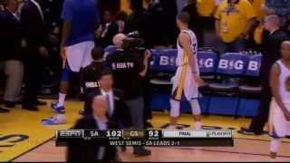 So Sad! Tracy McGrady lower the head to leave(05.10.2013)