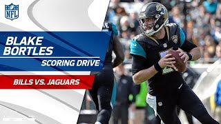 Blake Bortles' Big Runs Set Up Game-Tying FG to End Half! | Bills vs. Jaguars | NFL Wild Card HLs