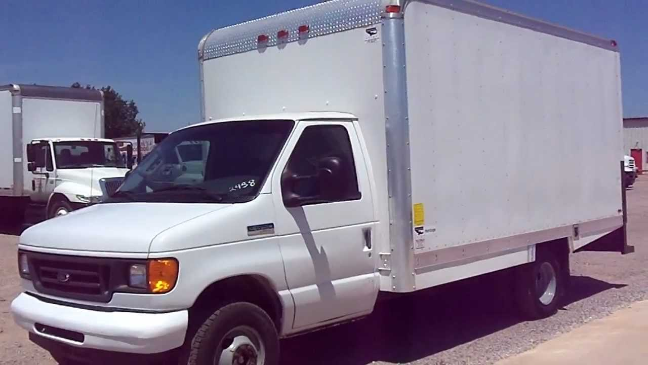 Stock 2458 2007 Ford E350 Box Truck For Sale Youtube