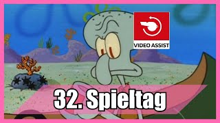 Bundesliga 32. Spieltag portrayed by Spongebob [Deutsch/German]