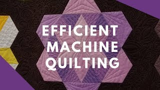 The Daytime Quilt Show- Machine Quilting Efficiently with Angela Walters (and her kids!)