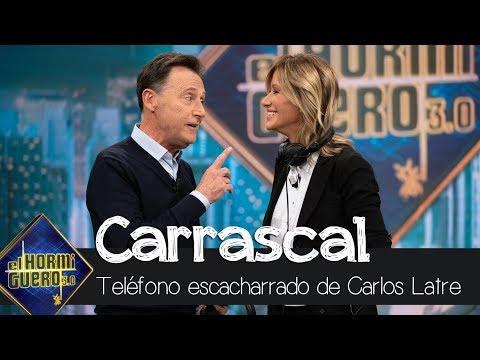 Susanna Griso y Matías Prats se enfrentan al teléfono escacharrado de Carlos Latre - El Hormiguero