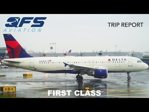 TRIP REPORT | Delta Airlines - A320 - New York (JFK) to Atlanta (ATL) | First Class