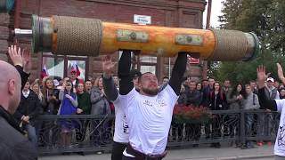 Тяга 430 кг на силовом турнире.