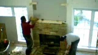 Time Lapse Masonry, Stone Fireplace, Chimney Construction Contractor Atlanta, North Atlanta