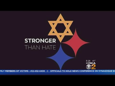 Hilary - Pittsburgh Steelers change their logo to honor Tree of Life victims