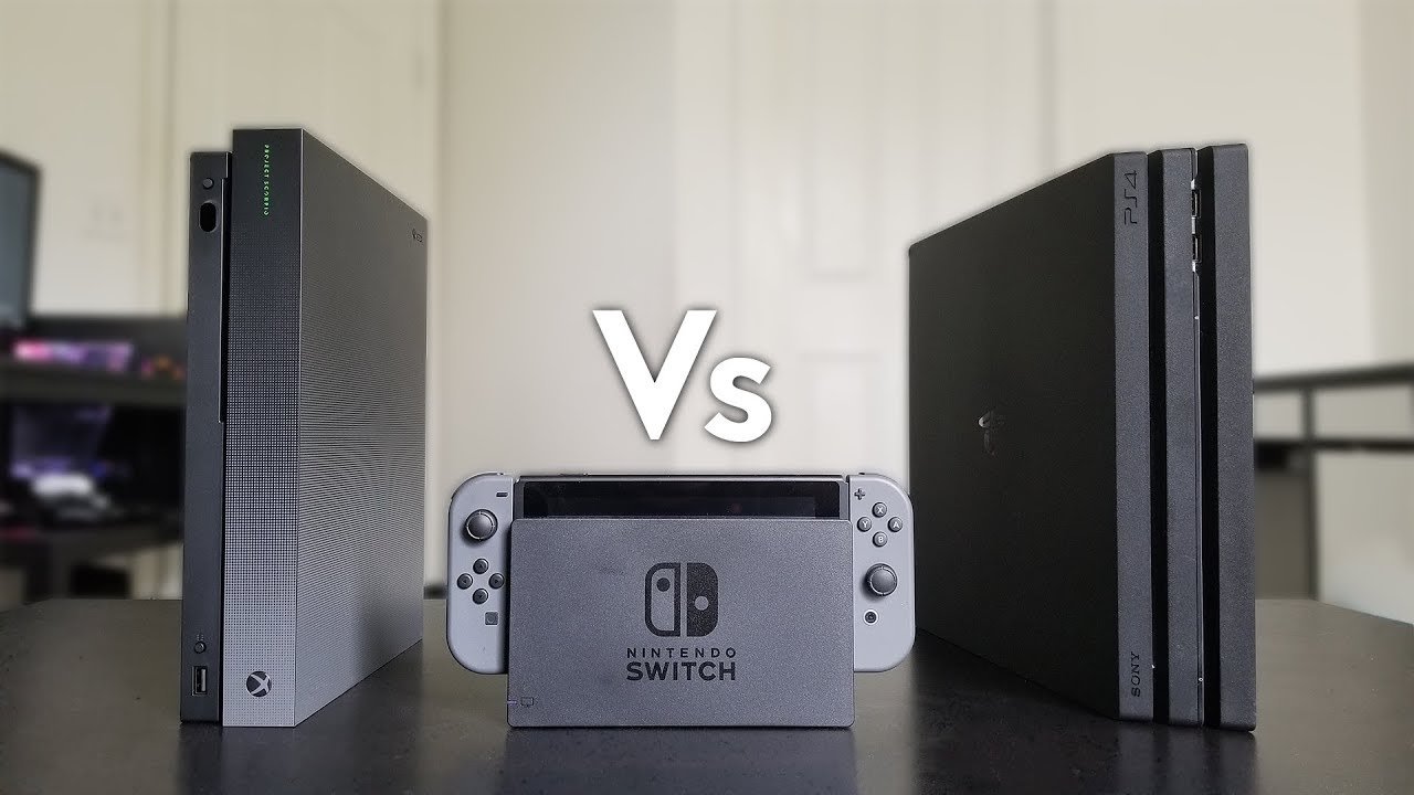 Xbox One X Vs Nintendo Switch Vs Ps4 Pro Review Youtube